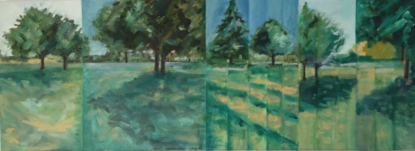 Later Summer, South Park Gardens (Episodic) by artist Jo Holdsworth