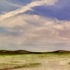Cloudy Reflections by artist Jo Holdsworth