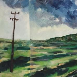 Episodic Road by artist Jo Holdsworth