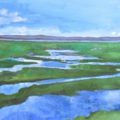 Water on Water by artist Jo Holdsworth