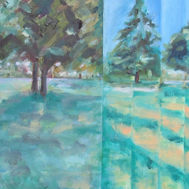 Late Summer, South Park Gardens (Episodic) by artist Jo Holdsworth