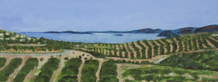 Eastern Crete 1 by artist Jo Holdsworth
