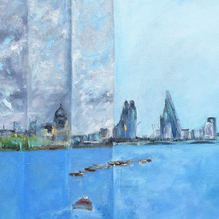 Episodic Thames by artist Jo Holdsworth