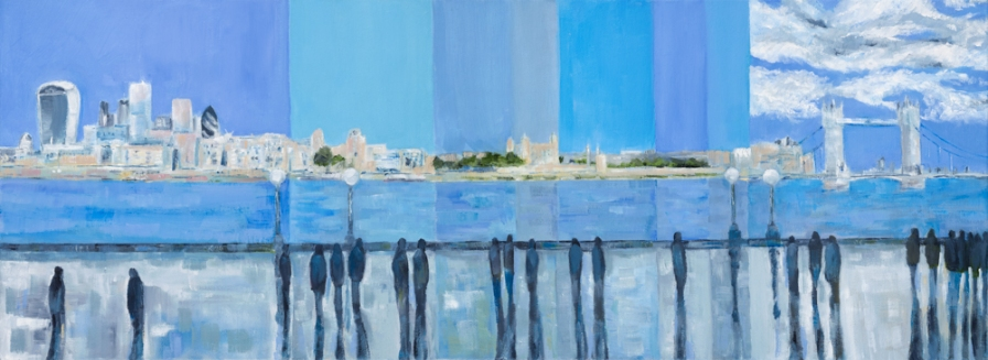 Episodic Thames II - all images copyright Jo Holdsworth Artist